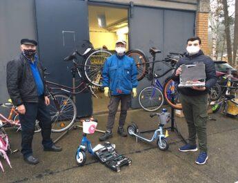 Spende an Fahrradwerkstatt MOSAIK