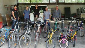 Butting Akademie spendet Fahrräder