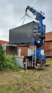 Container im MOSAIK Garten
